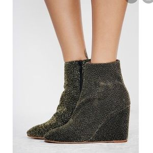 Jeffery Campbell + Free People Wedge Boot Booties